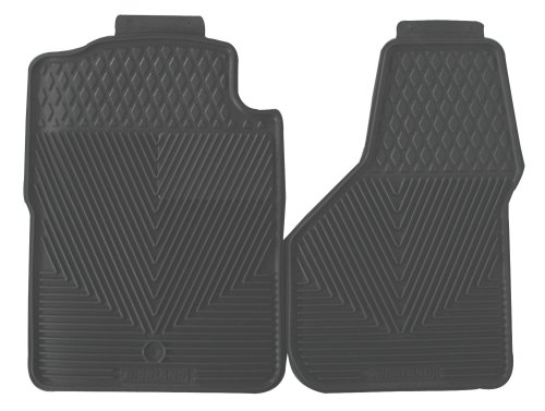 Highland 4504400 All-Weather Gray Front Seat Floor Mat front-315516