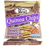 (Pack of 20) Eat Real - 25% OFF Quinoa Tomato Garlic Chips 30 g