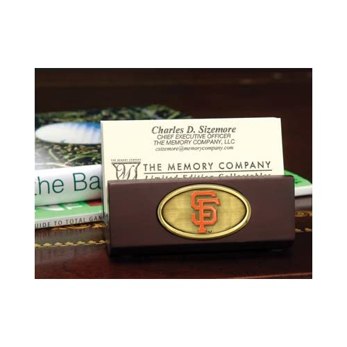 MLB San Francisco Giants Baseball Business Card Holder