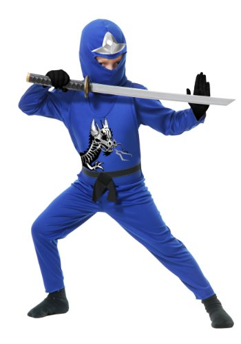 Blue Ninja Avengers Series II Toddler Costume - Toddler(2/4T)