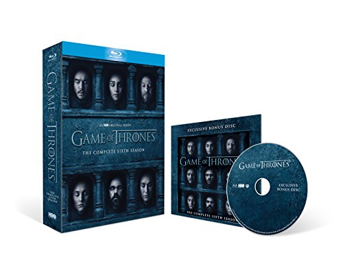 Game of Thrones - Season 6 with Bonus Disc (Exclusive to Amazon.co.uk) [Blu-ray]