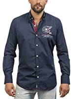 Signore Dei Mari Camisa Hombre Chris (Azul Marino)