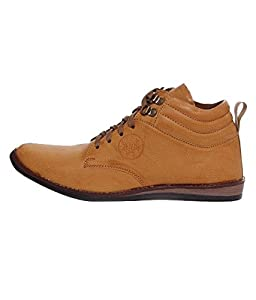 Freedom Daisy Men's Beige Synthetic Boots (rib499tn105)