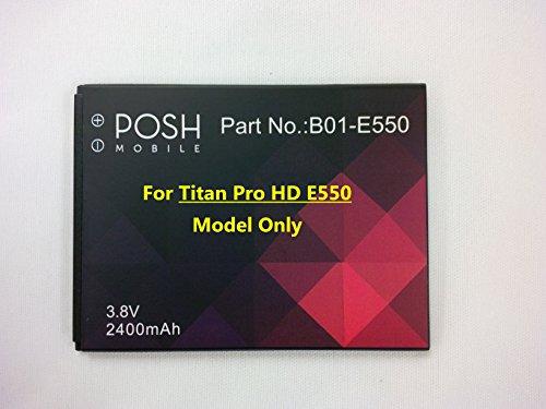 Posh Mobile - Battery for Titan Pro HD -E550 (Posh Mobile Phones compare prices)