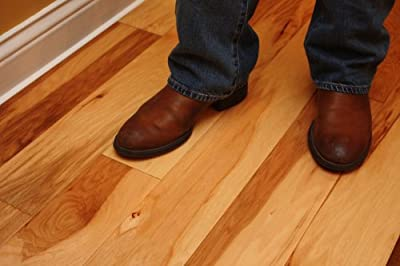 "Elk Mountain Hickory Natural 9/16"" x 5"" Hand Scraped Engineered Hardwood Flooring AF089 SAMPLE"