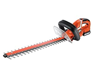 Black & Decker 18V LithiumIon 50cm Hedge Trimmer/ 18mm Blade Gap/ Bale Handle Design  BaumarktRezension