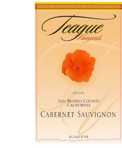 2009 Teague Vineyards Cabernet Sauvignon, San Benito 750 Ml