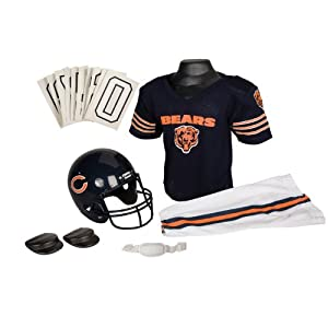 NFL Chicago Bears Deluxe Youth Uniform Set, Medium