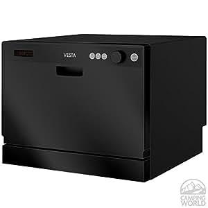 ... DWV322CB Black 115 Volt Space-Saving Countertop Dishwasher: Automotive