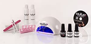 Couture Gel Nail Polish Kit with Espree Salon Lamp (Fashionista)