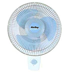 air king 16 oscillating wall mount fan patio