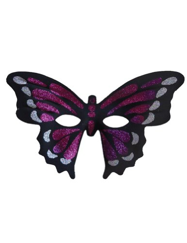 Scary-Masks Butterfly Masquerade Mask Purple Halloween Costume - Most Adults