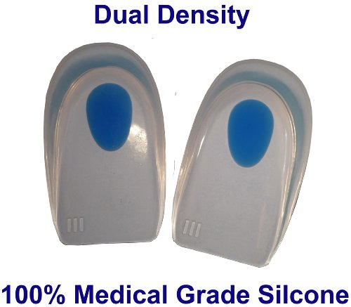 SturdyFoot Silicone Gel Heel Cups/Pads 100% Medical Grade Silicone