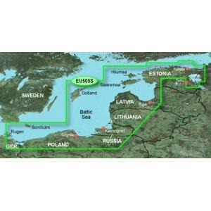 GARMIN BLUECHART G2 HXEU505S BALTIC SEA EAST COAST