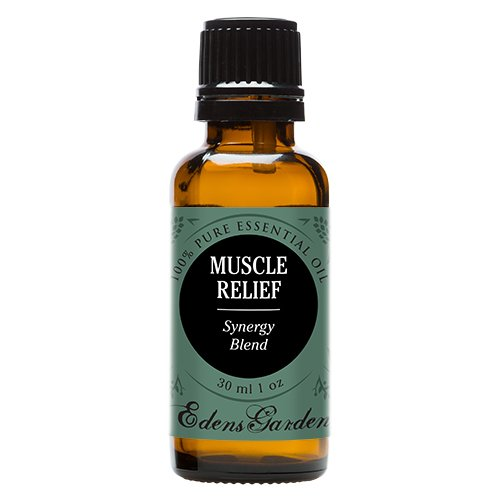 Muscle Relief Synergy Blend Essential Oil by Edens Garden- 30 ml (Clove, Helichrysum, Peppermint and Wintergreen) (Comparable to Young Living's PanAway blend)