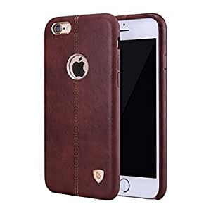 MVE(TM) Englon Leather Back Cover for Apple iPhone 6/6S -BROWN , iPhone 6/6S Leather Cover,Leather case
