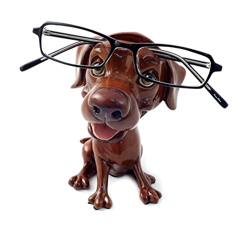 Opti Pets Eyeglass Holder Stand Opti Pets Labrador Chocolate (8029-OPTI-CLR)