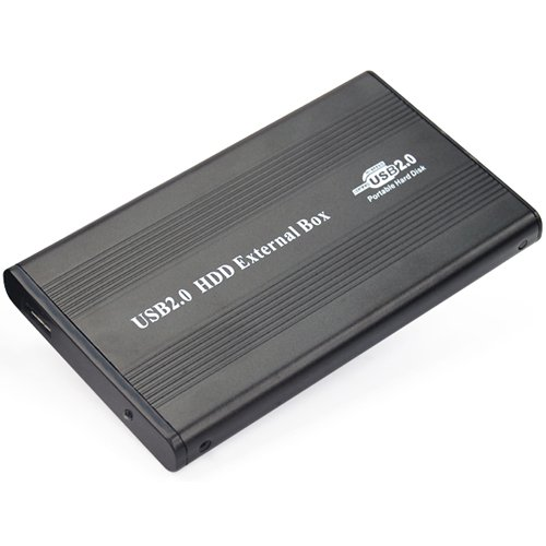 2.5 IDE TO USB HDD HARD DISK DRIVE CADDY ENCLOSURE CASE