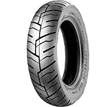 Shinko SR245 Series Tire - Front/Rear - 130/60-13 , Position: Front/Rear, Tire Size: 130/60-13, Rim Size: 13, Tire Ply: 4, Speed Rating: J, Tire Type: Scooter/Moped XF87-4279