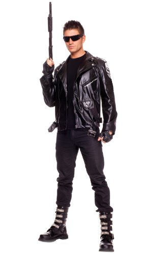 The Terminator 1984 Movie Costume for Men. Medium, Large or XL.