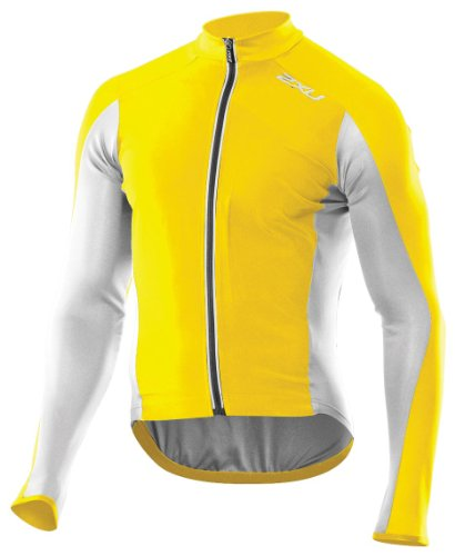 Buy Low Price 2XU Men's Cycle Long Sleeve Top (MC1899a)