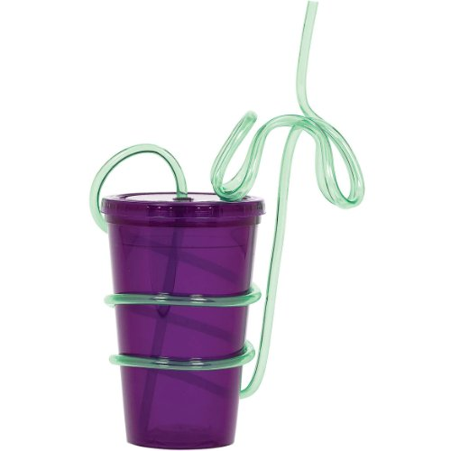 To Go Cup Palm Tree Straw