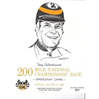 1969 Tony Bettenhausen 200 Mile National Championship Race Program - USAC