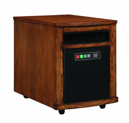 Comfort Smart Mighty Oak 1000 Sq Ft Portable Infrared Heater – 10QH8000-O115