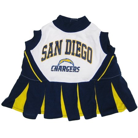 Pets First San Diego Chargers Pet Cheerleader Uniform Extra Small at Amazon.com