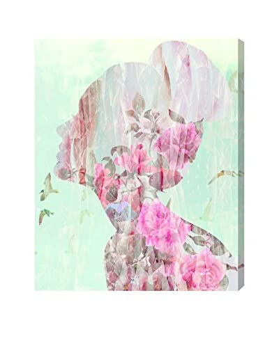 Oliver Gal Birds In Her Head Canvas Art