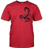 Wolkenbruch® T-Shirt Skorpion vers. Farben Gr.S bis 5XL