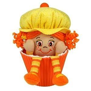 "Little Miss Muffin 9"" Little Miss Pumpkin Orange Hair And Yellow Hat"