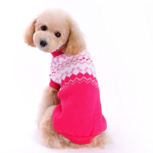 Camicia Piccolo Cane, Dog Shirt, Ouneed® Maglione Dog Pet (S)