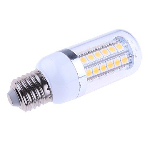 Lemonbest™ 360 Degree Lighting E27 Base Led Corn Light 6 Watts 48 Leds 5050 Smd 3000K Warm White Light Led Corn Bulb 110V front-1046145