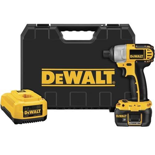 Dewalt Dcf826Kl1 18V 1/4-Inch Cordless Compact Li-Ion Impact Driver Kit