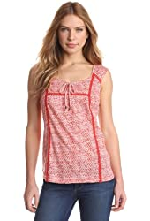 Lucky Brand Women's Jr Garden Edith Top
