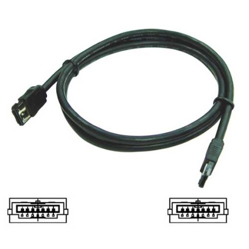 E-SATA to E-SATA cable - 1.5 Meters (5 Feet)