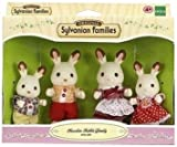 Epoch 3125 Sylvanian families - Chocolate rabbit family