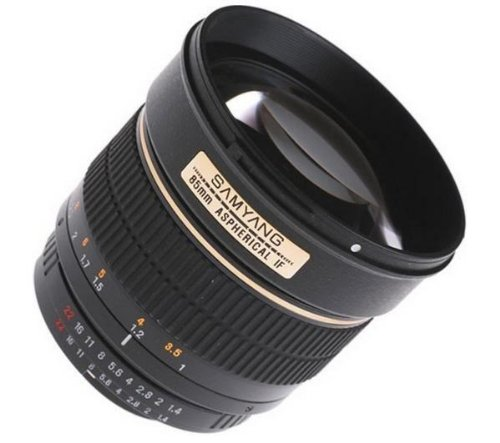 SAMYANG 85 mm f / 1.4 IF Lens For Canon + 3 YEARS