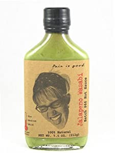 Pain Is Good Diva Jalapeno Wasabi Hot Sauce 66 from Original Juan