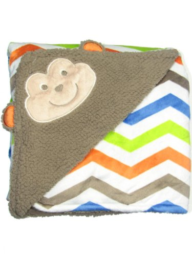 Babystarters Nursery Blanket, Brown