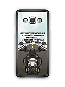 YuBingo Find Yourself Mobile Case Back Cover for Samsung Galaxy A3