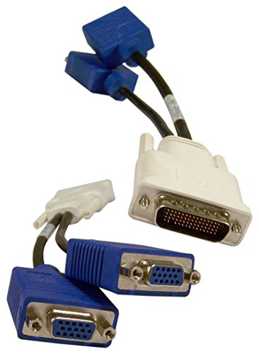 HP LFH / DMS-59 to Dual VGA Y-Splitter Cable 338285-008 (Discontinued by Manufacturer)