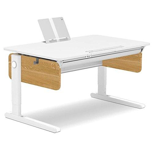Moll Champion Style Left Up Schreibtisch | Eichedekor | 120 x 72 x 53-82 cm (Breite x Tiefe x Höhe) | höhenverstellbar jetzt bestellen