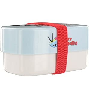 Paperchase Bento Lunch Box , Happy Noodle Design.