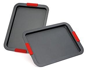 Elite Bakeware NonStick Baking Pans - Baking Sheets - Cookie Sheets Set