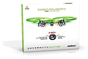UDI 818A HD+ RC Quadcopter Drone with HD Camera, Return Home and Headless Mode + BONUS BATTERY