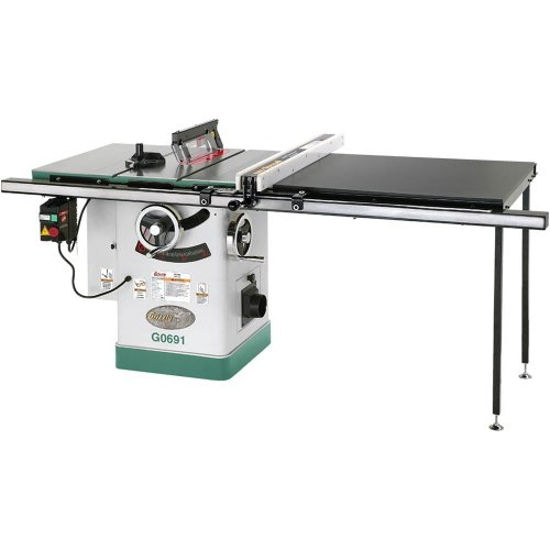 Grizzly G0691 Cabinet Table Saw With Long Rails And Riving Knife 10 Inch Find Discount Saws 95 S3