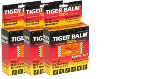 Best Prices! Tiger Balm Ultra Sports Rub (1.7 oz x 3)