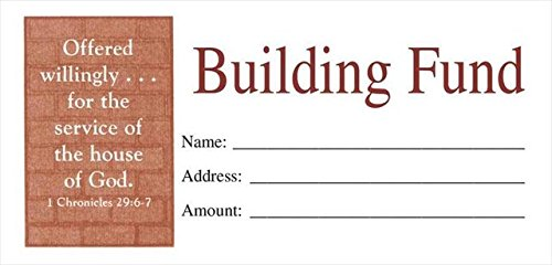 Broadman Holman 460761 Offering Env Building Fund (Building Fund Envelopes compare prices)